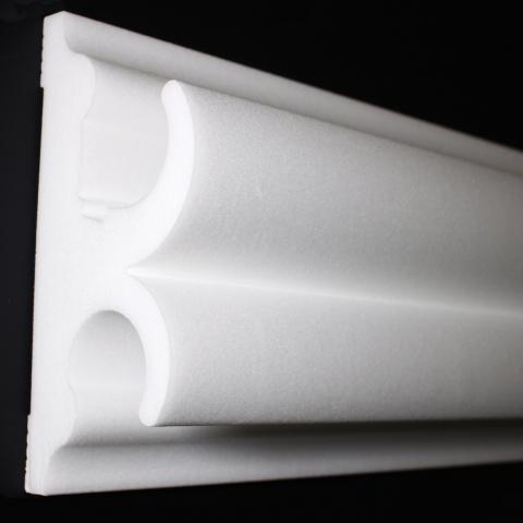 Stuckleiste Wandprofil LED 130x53,5