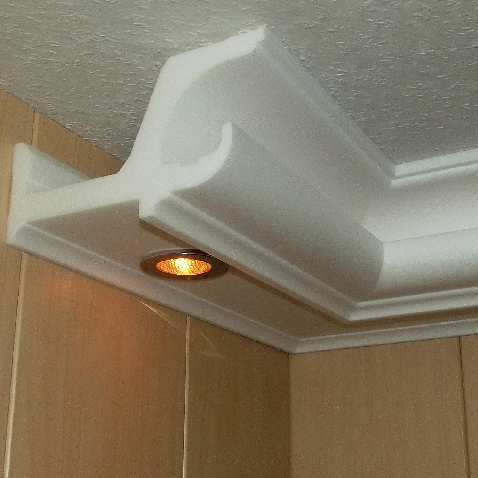 Deckenleiste Indirekte Beleuchtung | Stuck Led Beleuchtung Profil Zierprofil