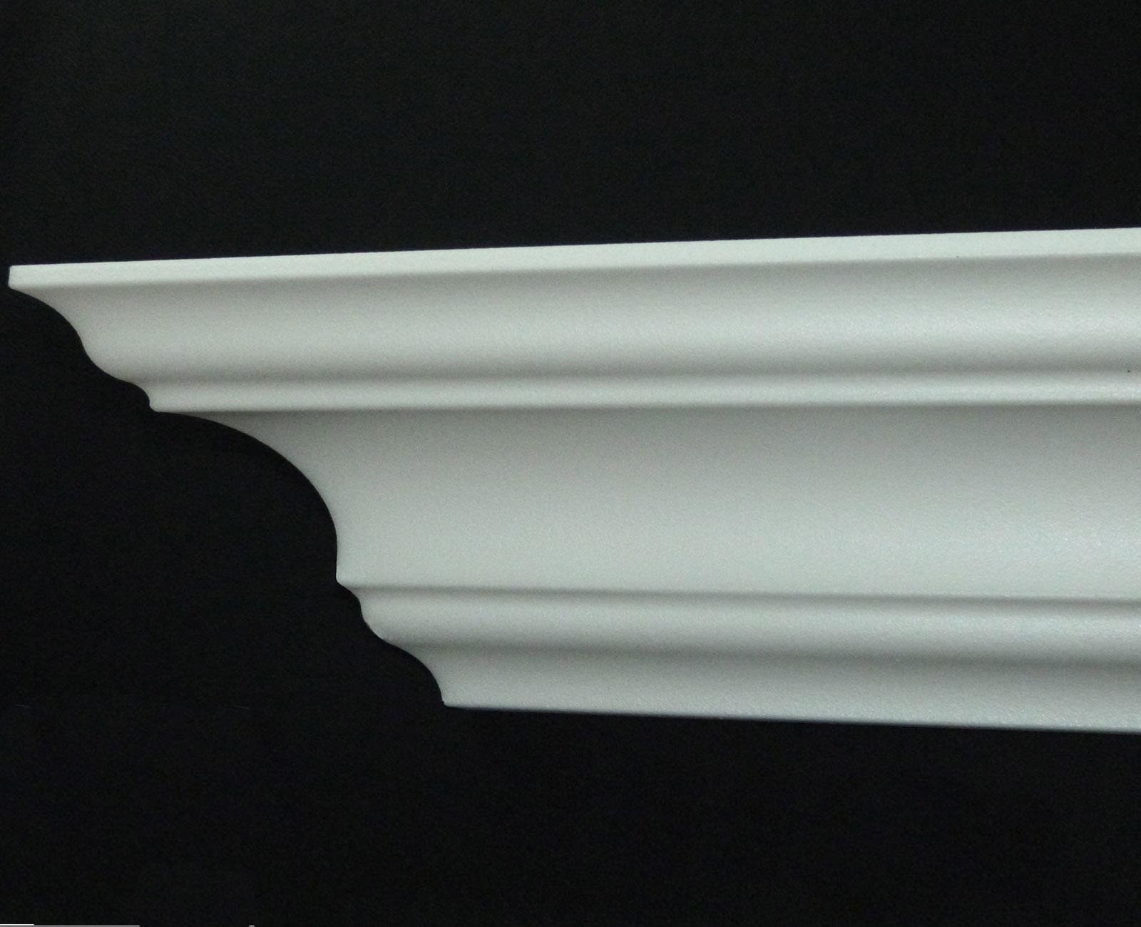 stuckleisten dekorleisten decke 36 m styroporleisten stuckleisten eckleisten dekorleisten 40. Black Bedroom Furniture Sets. Home Design Ideas