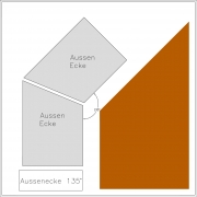 stucco profile Lennart A-E 135