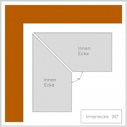 stucco profile Beret I-Ecke